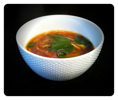 Asian veg soup